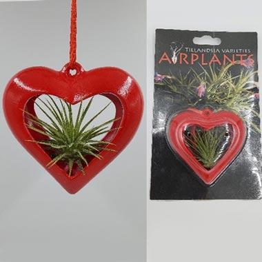 3 Inch Red Ceramic Heart