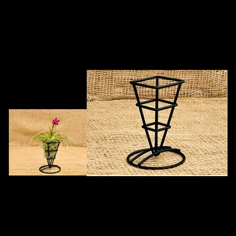 Metal Square Planter 2.5 Inches Wide x 5 Inches Tall